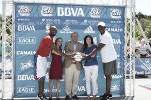 Hamilton y Worthy visitan Madrid para el NBA3X España