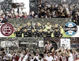 Los últimos finalistas argentinos de Copa Libertadores
