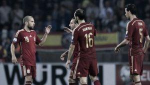 David Silva pone a España un paso más cerca de Francia