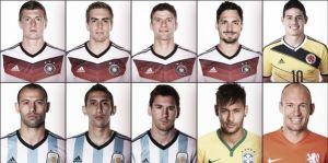 La FIFA anuncia los candidatos a mejor jugador del Mundial