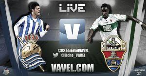Real Sociedad vs Elche en vivo y en directo online