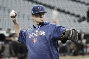 Kyle Schwarber will catch in spring training