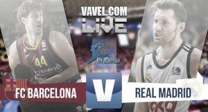 Resultado final Barcelona Bàsket vs Real Madrid Baloncesto en ACB 2015 (85-90)