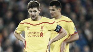 """Gerrard: """"No estuvimos al nivel"""""""