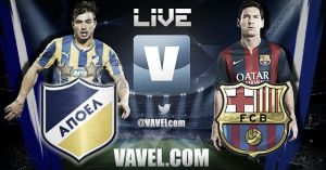 Partido APOEL vs Barcelona en vivo online