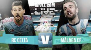 Resultado Celta de Vigo vs Málaga en la Liga BBVA 2015 (1-0)