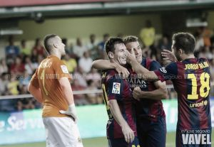 Fotos e imágenes del Villarreal CF 0 - 1 FC Barcelona, de la 2º jornada de la Liga BBVA