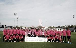 El Valencia CF se une a la campaña contra el cáncer de mama