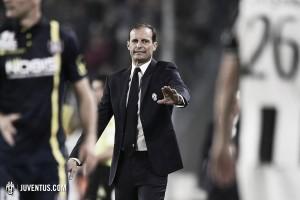 """Allegri: """"Era uno de los partidos más complicados tras el desgaste ante el Napoli"""""""