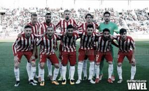 Almería - Girona: puntuaciones Almería, jornada 29 de la Liga Adelante