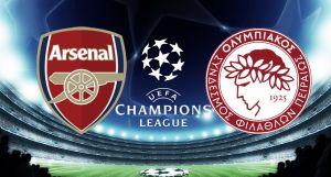 Resultado Arsenal vs Olympiacos (2-3)