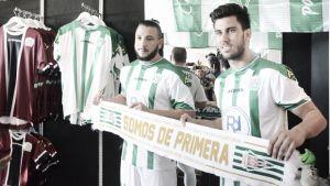 Nabil Ghilas y Fede Vico, presentados con la elástica blanquiverde para la próxima temporada