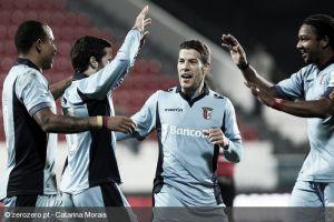 Sporting Braga goleó a Penafiel y se afianza en puestos europeos