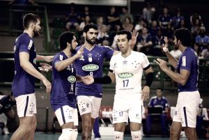 Sada Cruzeiro vence Ponta Grossa Caramuru e mantém liderança isolada na Superliga Masculina