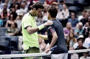 US Open: Juan Martin del Potro advances after Dominic Thiem's retirement