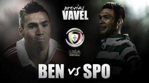 SL Benfica - Sporting CP: un león en forma quiere dar caza a un águila herida