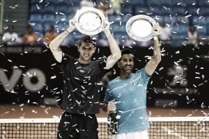 Delbo y Machi campeones de dobles en Brasil