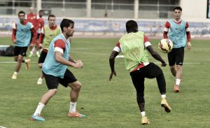El Almería vuelve a los entrenamientos tras dos días de descanso