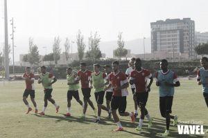 Vídeo y trabajo táctico para preparar el partido frente al Levante