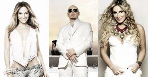 JLo, Pitbull y Claudia Leitte cantarán el himno oficial del Mundial de Brasil