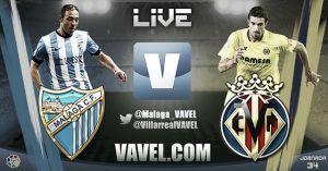 Málaga CF vs Villarreal CF en vivo y en directo online
