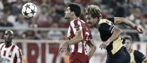 Los errores defensivos condenan al Atlético de Madrid en el Karaiskakis