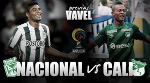 Atlético Nacional - Deportivo Cali: El clásico'verde'con sabor picante