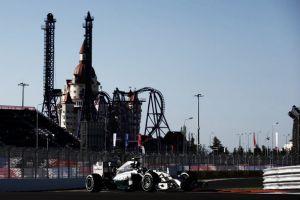 Sochi, Nico Rosberg comanda il primo turno di libere