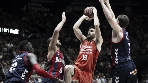Fechas y horarios confirmados para el Baskonia-Valencia Basket