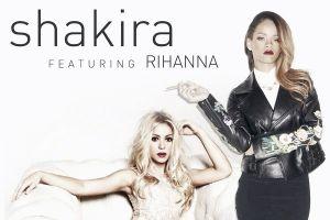 El dueto de Shakira y Rihanna se estrenará el 13 de enero