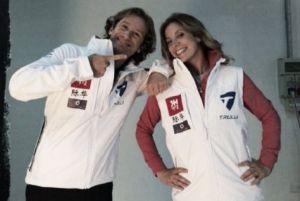 """Esclusiva, Jarno Trulli e Michela Cerruti: """"La Formula E avrà un bel futuro"""""""