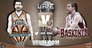 Valencia Basket - Laboral Kutxa, Copa del Rey 2014, en vivo y en directo online