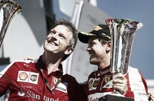 """Formula 1, Allison: """"Vettel come Schumacher, è uomo squadra"""""""