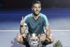 ATP St. Petersburg: Damir Dzumhur claims first singles title