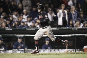 Cleveland Indians mash Chicago Cubs' pitching in 7-2 victory in Game 4, take 3-1 World Series lead