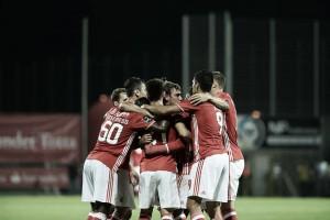 Benfica sobrevive à Choupana com golos de Carrillo e Jiménez