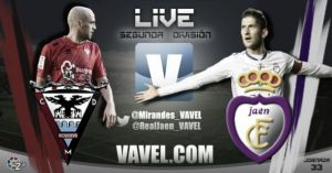 CD Mirandés - Real Jaén en directo online