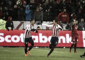 No Canadá, Chivas vence Toronto e sai na frente na final da Concachampions
