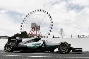 Suzuka, Rosberg su Hamilton nelle FP1