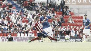 El Almería sigue parado fuera de casa