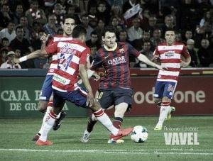 El Granada CF - FC Barcelona, el 28 de febrero