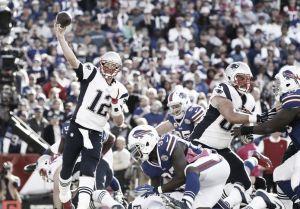 Los Patriots se llevan la victoria y se ponen al frente de su división ante los Bills