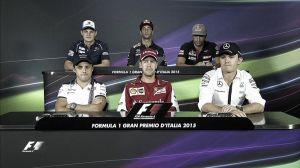 Monza, le dichiarazioni dei piloti in conferenza stampa