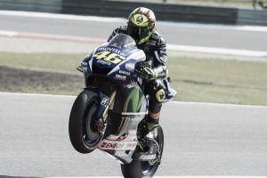 Assen, prima pole stagionale per Valentino Rossi