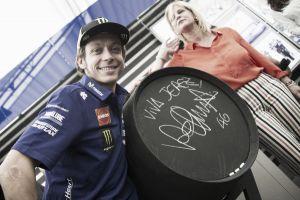 """Valentino Rossi: """"Giornata positiva, ma la gara sarà difficile"""""""