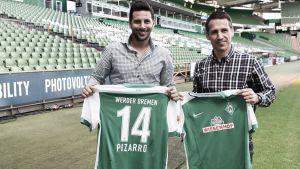 Pizarro vuelve a casa, vuelve a Bremen