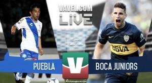 Resultado Puebla - Boca Juniors en Reinauguración Estadio Cuauhtémoc (1-0)
