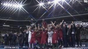 Portugal é campeão da Europa