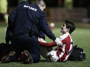 Bojan out for rest of the season with serious knee injury