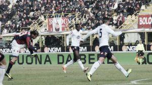 Diamanti da tres puntos vitales al Bologna